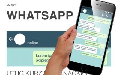 """UTHC Infos """"Kurz und knackig"""" via WhatsApp"""