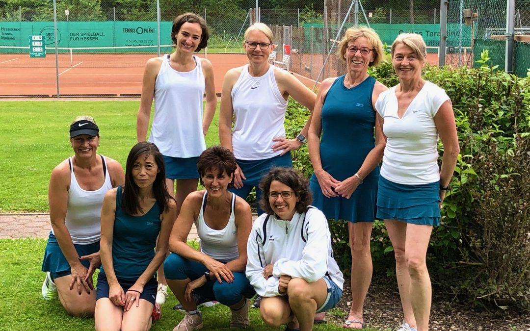Wichtiger 5:4 Heimsieg der Damen 40-1 gegen SW Büdingen