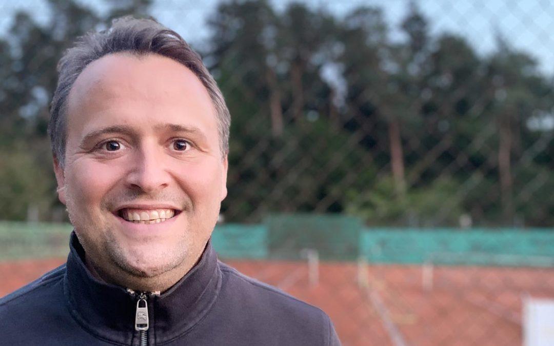 Christian Valenthon bewirbt sich als Jugendwart des UTHC
