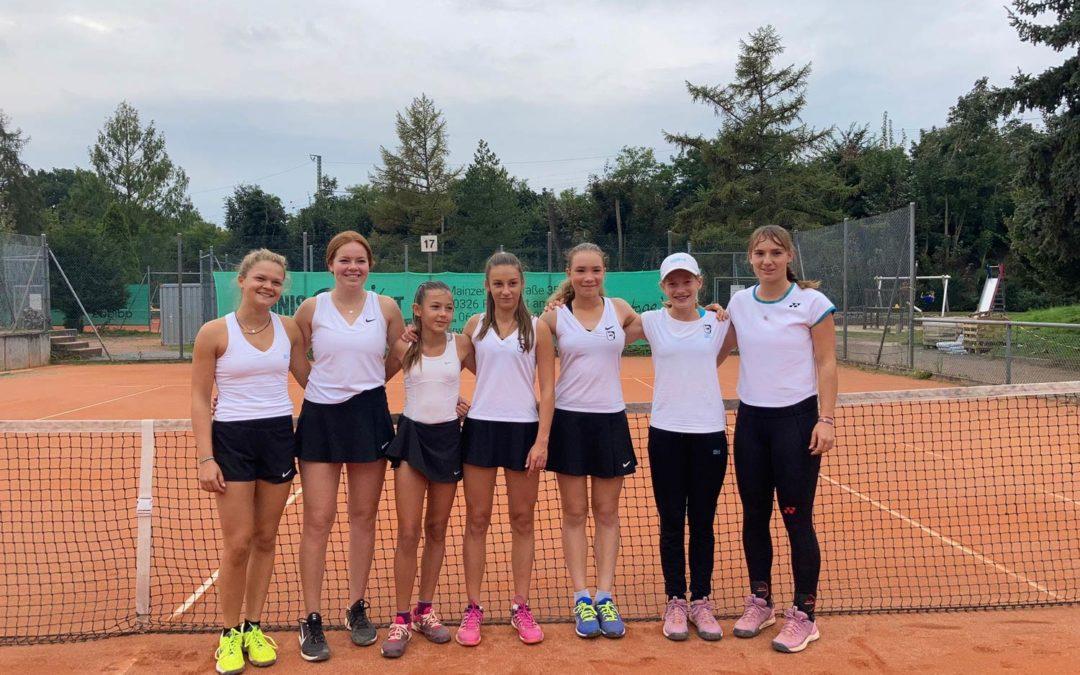 Usinger Tennismädels spielen auch im nächsten Jahr in der Hessenliga